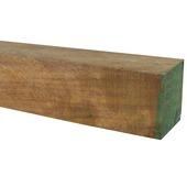 Tuinpaal hardhout 6,5 x 6,5 x 140 cm
