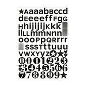 vtwonen muursticker letters - ster