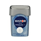 Histor Perfect Finish lak waterbasis hoogglans wit 750 ml