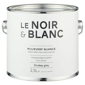 Le Noir & Blanc muurverf nuance smokey grey 2,5 l