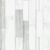 Vliesbehang sloophout grijs (dessin 33-180)