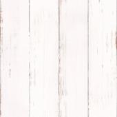 Vliesbehang sloophout wit (dessin 33-255)