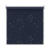 KARWEI rolgordijn ster donkerblauw (1449) 120 x 190 cm