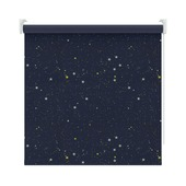 KARWEI rolgordijn ster donkerblauw (1449) 150 x 190 cm