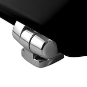 Bemis New York toiletbril hout zwart softclose