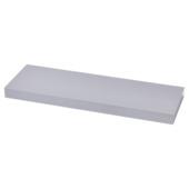Handson zwevende wandplank 38 mm aluminium 60x20 cm