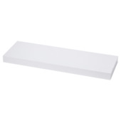 Handson zwevende wandplank 38 mm wit 120x20 cm