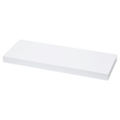 Handson zwevende wandplank 38 mm wit 23,5x23,5 cm