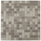 Wandtegel Mozaiek Kristal grijs 30x30 cm 1 stuk
