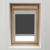 KARWEI dakraamrolgordijn grijs (7004) 94 x 160 cm