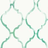 Vliesbehang dana groen (dessin 101828)