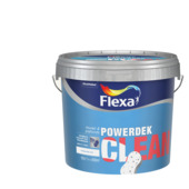 Flexa Powerdek Clean mat Wit 10L