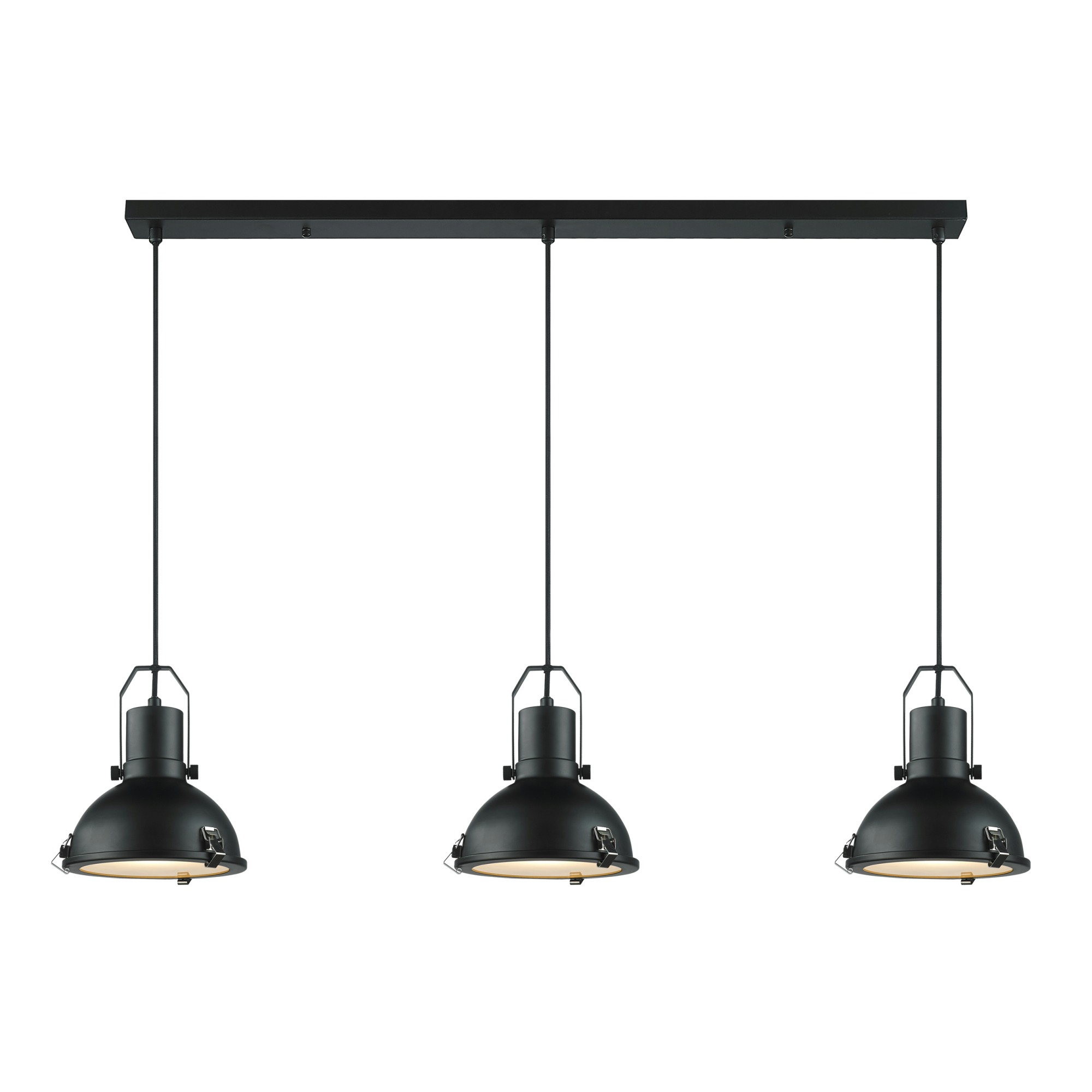 Karwei hanglamp magnus zwart hanglampen verlichting for Kleine industriele hanglamp
