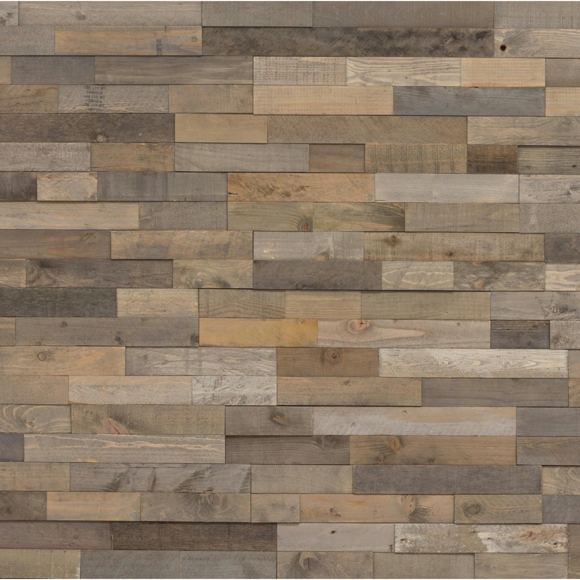 Plakhout grijs waas mix plakhout wand plafondbekleding hout karwei - Wandbekleding voor wc ...