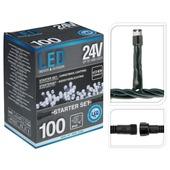 Koppelbare LED-kerstverlichting 31 volt startset