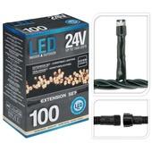 Koppelbare LED-kerstverlichting 31 volt verlengset