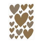 vtwonen muursticker hearts (dessin 89408)