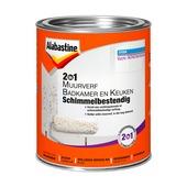 Alabastine 2in1 muurverf badkamer en keuken schimmelbestendig 1 l