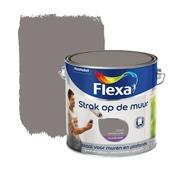Flexa Strak op de Muur muurverf leisteengrijs 2,5 l