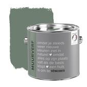 vtwonen krijt mat muurverf army green 2,5 l