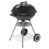 Kogelbarbecue zwart 43 cm
