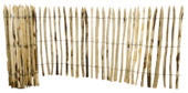 Schapenhek kastanjehout ca. 100x500 cm