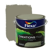 Flexa Creations muurverf extra mat camouflage green 2,5 l
