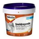 Alabastine gatenvuller voor grote gaten 2 componenten 2x 500 g