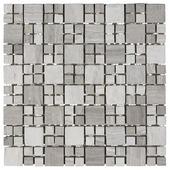 Mozaiek Bei/Taup/Grs 27X27CM 1St
