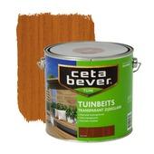 CetaBever tuinbeits teak transparant 2,5 l
