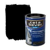 CetaBever Meesterbeits zwart dekkend 1,25 l