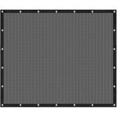 Cubic windscherm 150 x 180 cm zwart