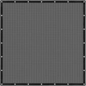 Cubic windscherm 180 x 180 cm zwart