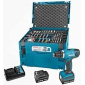 Makita accuboormachine 14,4V met 66-delige accessoiresset