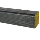 Tuinpaal Wave grijs ca. 6,8x6,8 cm, lengte 240 cm